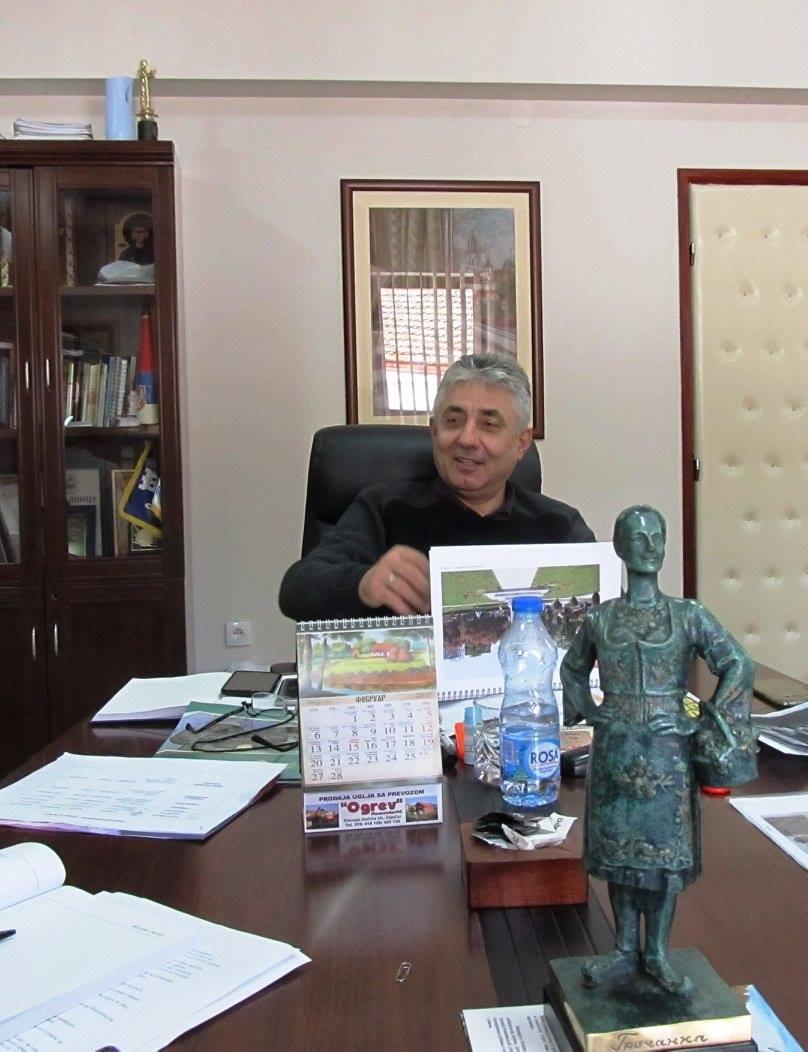 Састанак поводом будуће скулптуре и уређења Чаршије