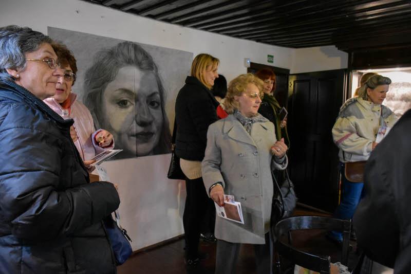 Чланови Дневног клуба Звездара у посети Ранчићевој кући