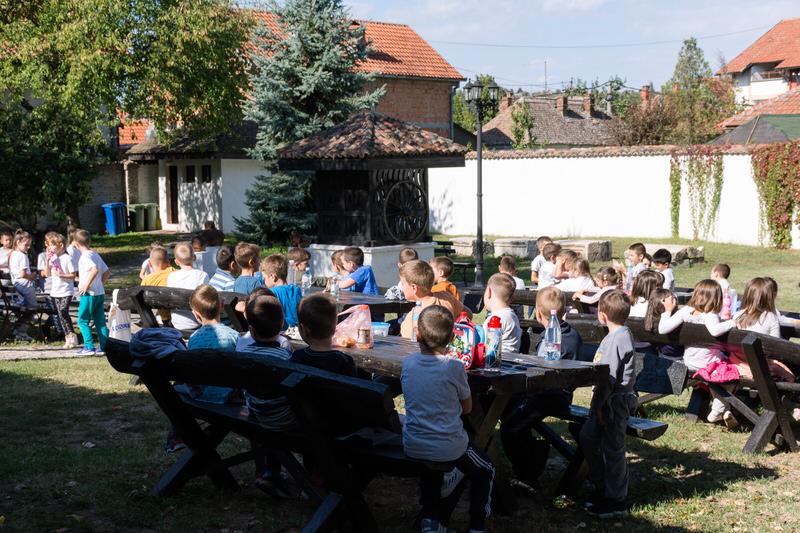 Ђаци прваци у Ранчићевој кући