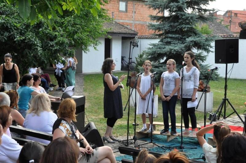 """Концерт хорова ОМШ ,,Невена Поповић"""" у Ранчићевој кући"""
