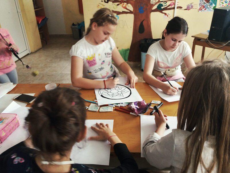 Ликовна радионица Центра за културу Гроцка у Врчину