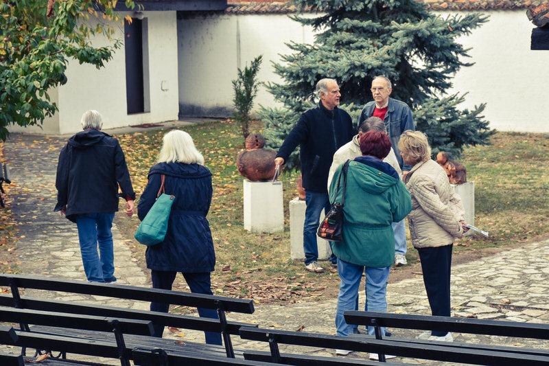 Нови излетници из Београда у посети Гроцкој