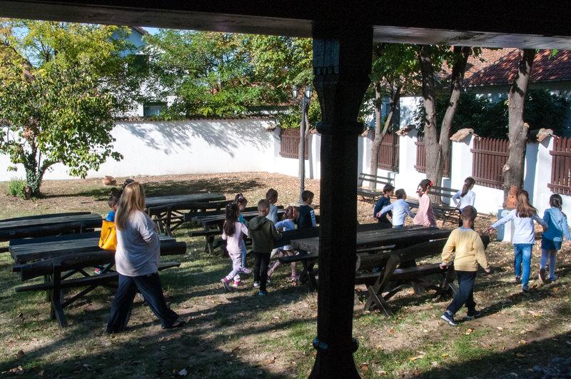 Предшколска група ПУ ,,Лане'' из Гроцке у посети Ранчићевој кући