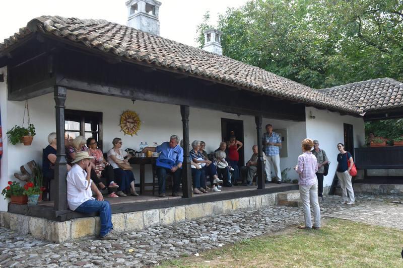 Ветерани УНС-а у посети Ранчићевој кући