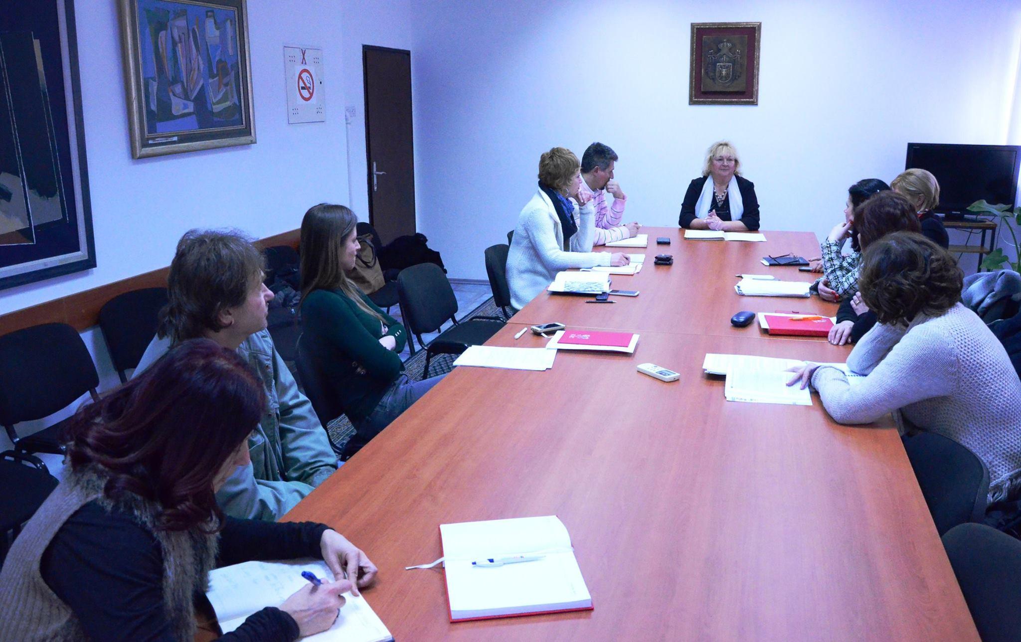 Обнова објекта Дома културе у Гроцкој, други састанак комисије