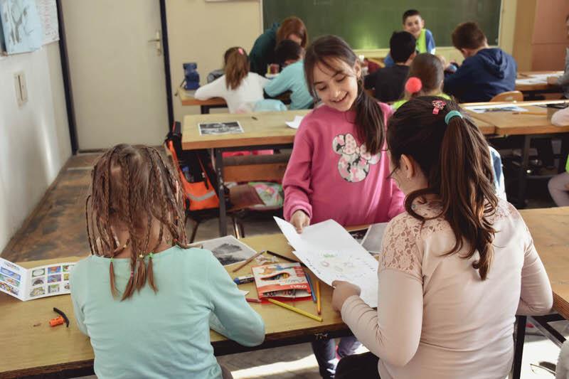 Отпочела је са радом пролећна Ликовна радионица у Гроцкој