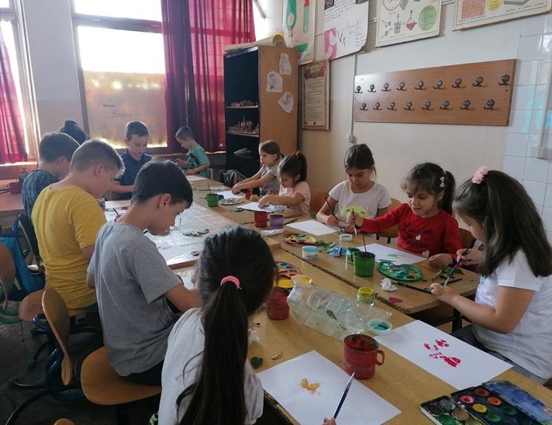 Ликовна радионица у Гроцкој за ДЕБ 2019