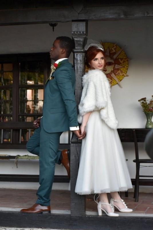 Свадбени албум у варошком дому Гроцке