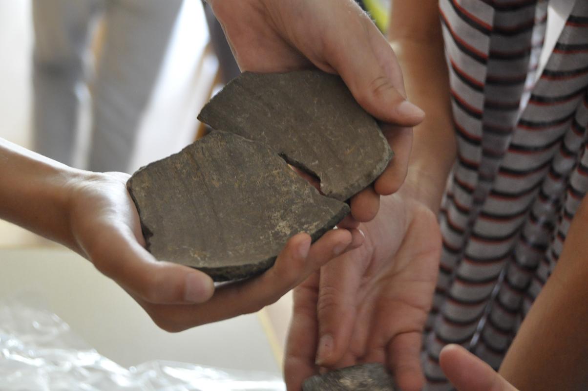 Археолошка радионица за децу са кустосима Музеја града Београда