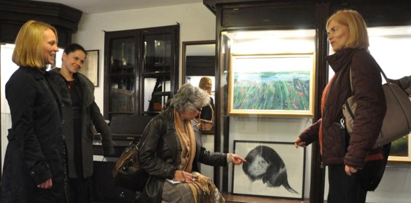 У сусрет импресији, групна изложба 22. Ликовне колоније општине Гроцка