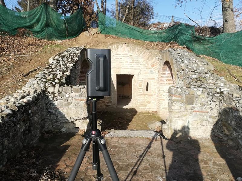 3Д снимци културних локалитета Гроцке