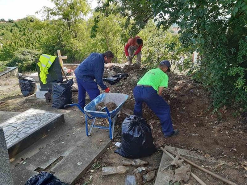Припремни радови на обнови и заштити Касноримске гробнице