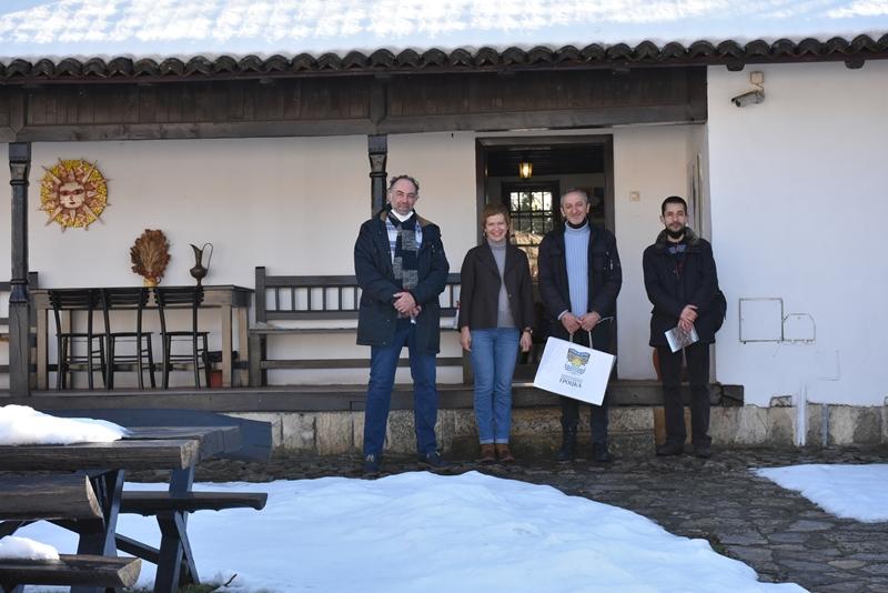 Посета Ранчићевој кући колега из Народне библиотеке Србије