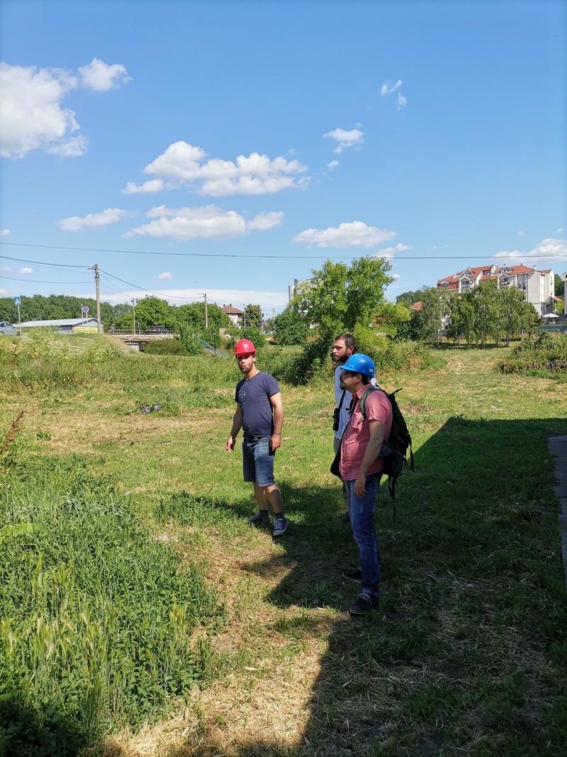 Тим Центра за урбани развој у посети Гроцкој