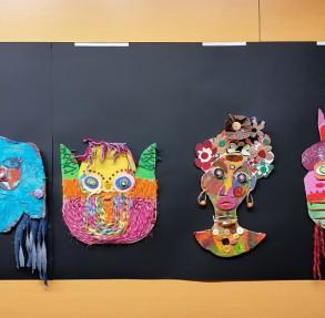 """Свечаност отварања дечје изложбе ,,Сцена, маска, костим, лутка"""" у Новом Саду"""